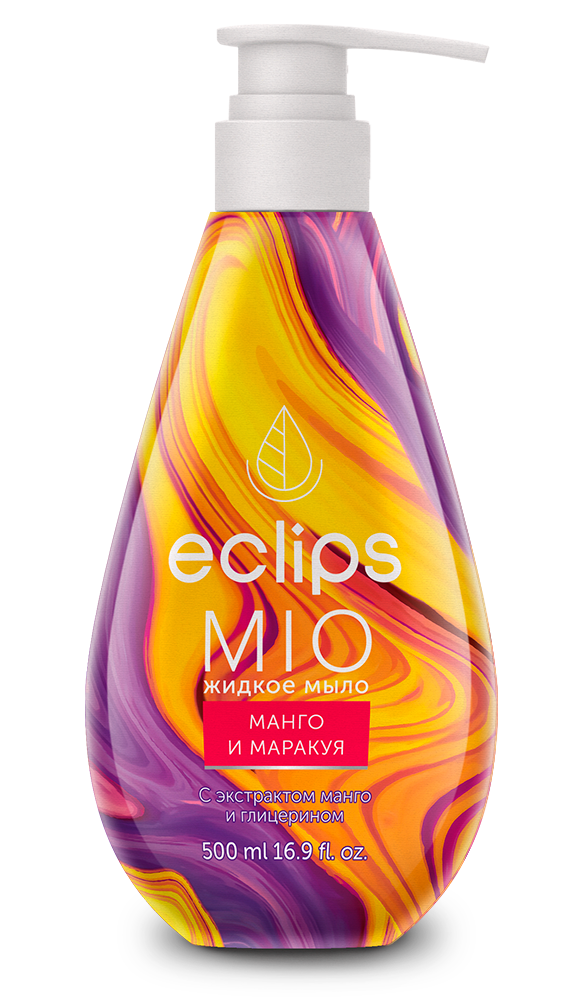 Мыло жидкое Eclips Mio Манго и Маракуя 500 мл с экстрактом манго и глицерином